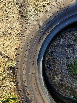 Neumáticos 255 55 18 Goodyear Runflat