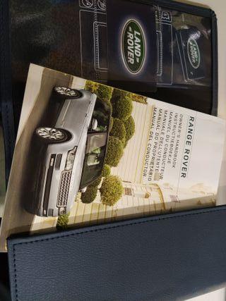 Manual de instrucciones Land Rover/Range Rover