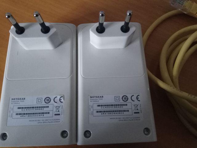 Netgear PL1000 adaptadores PLC Powlines