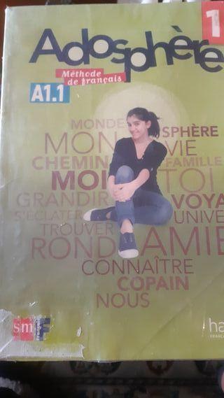 Adosphere.A1.1. libro de francés