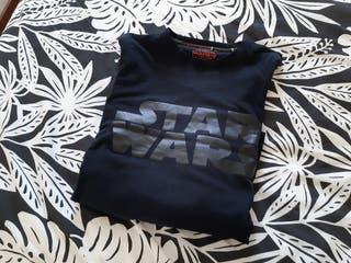 camiseta Star Wars manga larga talla S