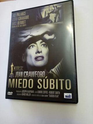 Dvd Miedo Súbito.