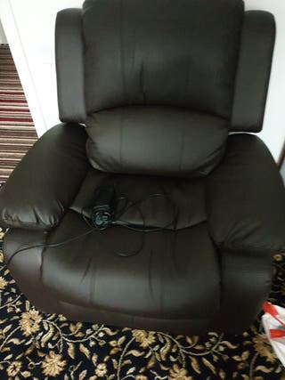 leather recline chair