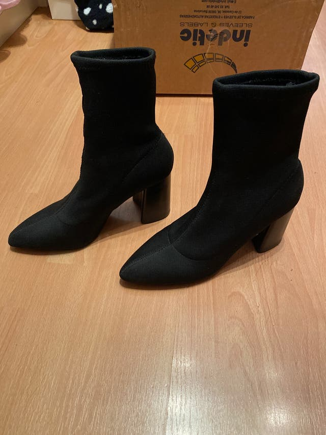 Botines calcetin