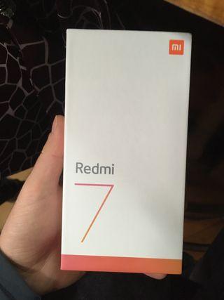 Xiaomi redmi7 nuevo sin estrenar