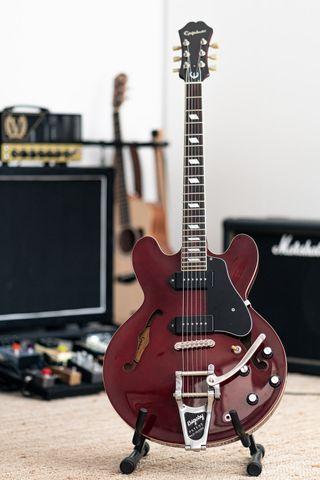 Guitarra EPIPHONE CASINO COREA 2005 LOLLAR BIGSBY