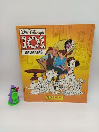101 Dalmatas album de cromos incompleto