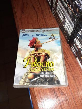 dvd.Pinocho la leyenda descatalogada