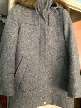 abrigo talla S solo puesta 2 veces