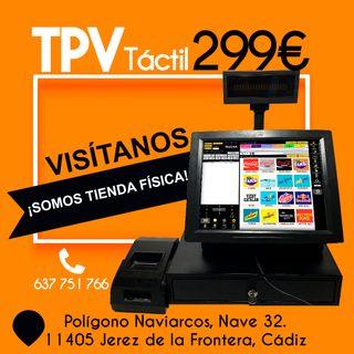 TPV +SOFTWARE PARA COMERCIOS. SOMOS TIENDA FÍSICA