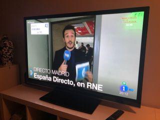 """Televisión plasma 50"""" + home cinema"""