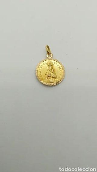 Medalla Escapulario oro 18 kts. 3,6grms.
