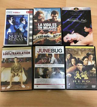DVD películas