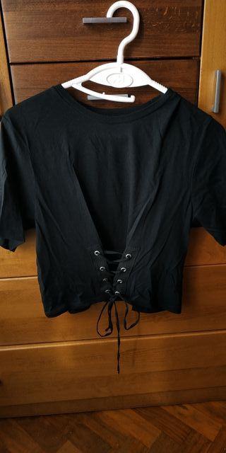 Camiseta Zara negra