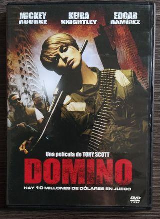 Domino Dvd película de acción