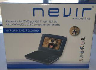 TDT con DVD PORTÁTIL NEVIR