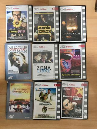Películas DVD colección cine público