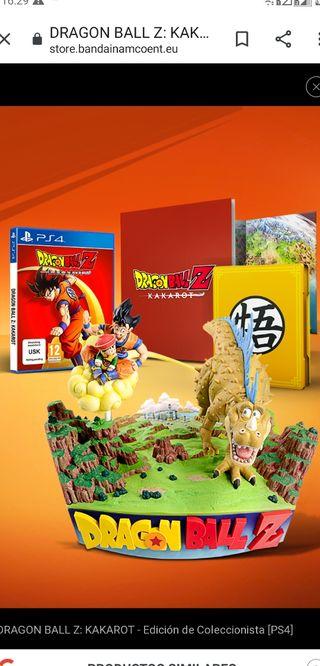 NUEVO! Dragon Ball Z Kakarot Edición Coleccionista