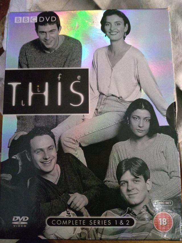 """Serie dvd descatalogada """"This Life"""" BBC en inglés"""
