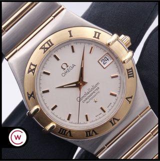 OMEGA Constellation Chronometer Auto Acero y Oro