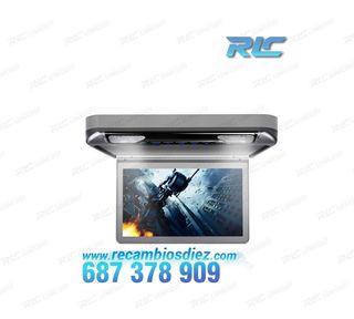 """PANTALLA DE TECHO HD 1080P XTRONS 13,3"""" CON LUZ DV"""