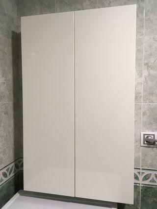 Armario baño pared