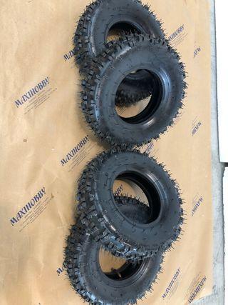 Lote 4 neumáticos Para quad Infantil nuevos
