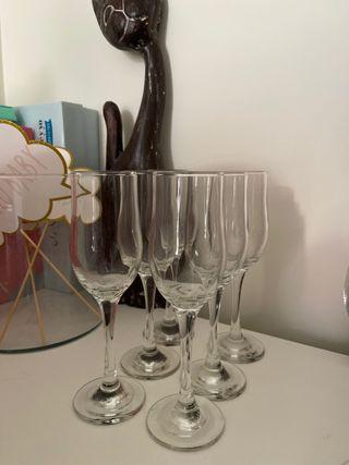 Copas de champán / cava