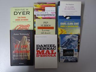 Pack 8 llibres de no-ficció en català (libros)