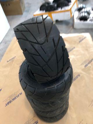 Lote de 5 neumáticos nuevos 8x3.50-4