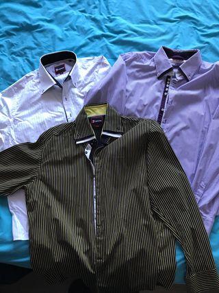 Pack de 3 camisas 7 camicie