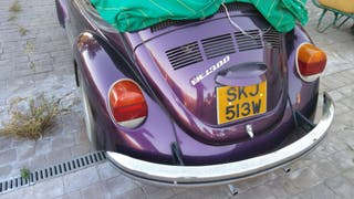 Volkswagen Escarabajo descapotable 1984