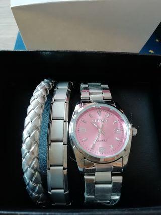 Reloj de mujer Chenxi + pulseras