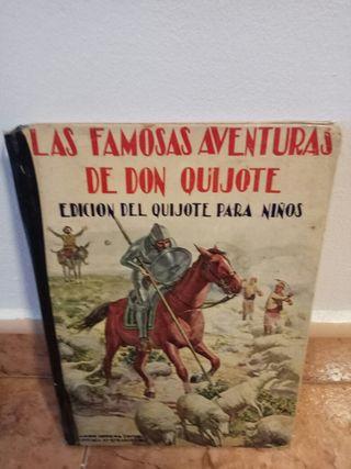 Libro 'Las aventuras de don Quijote'