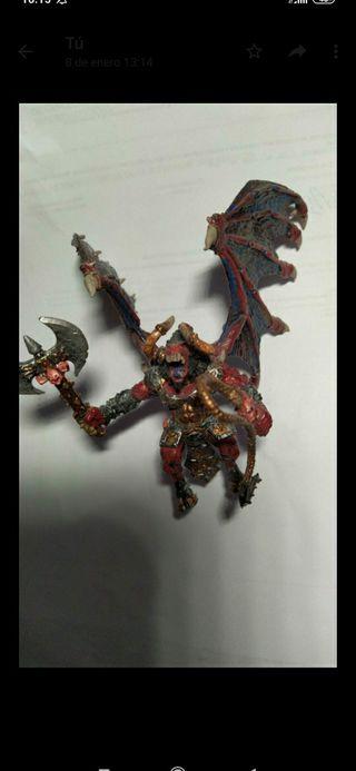 Khorne Bloodthirster metal