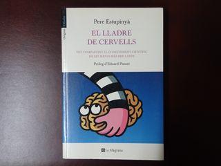 Llibre català (libro): El lladre de cervells