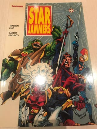 comics star jammers