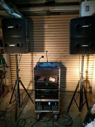 Discoteca Móvil con torre de luces