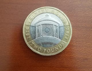 Moneda conmemorativa 2 libras