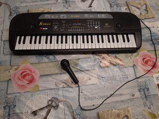 Órgano + micrófono