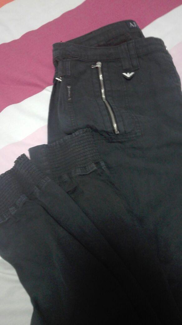 Pantalon Emporio Armani Mujer De Segunda Mano Por 20 En A Coruna En Wallapop