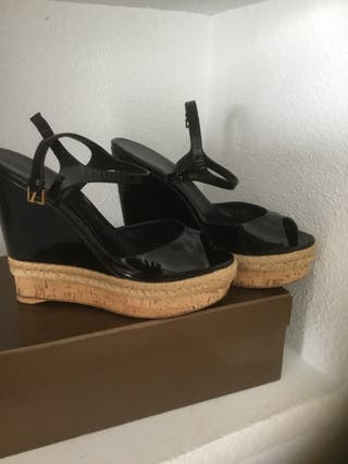 Sandalias cuñas Gucci