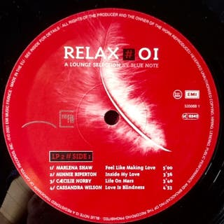 """V/A """"RELAX #01"""" LPx2"""