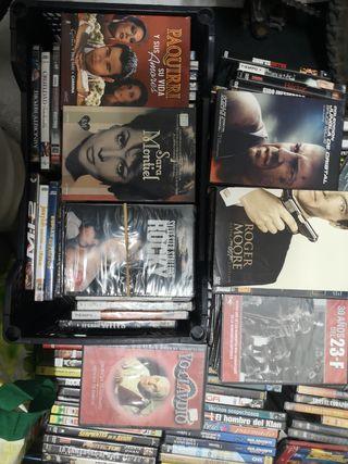 se venden películas DVD antiguas a partir de 1 eur