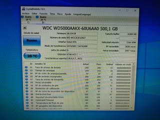 Disco duro HDD 3.5 500gb