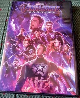 Película original Vengadores Endgame DVD