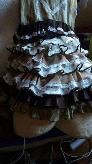 falda sevillana ....flamenco ..