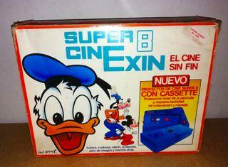 SUPER CINE EXIN 8 AÑOS 80 + 1 PELÍCULA