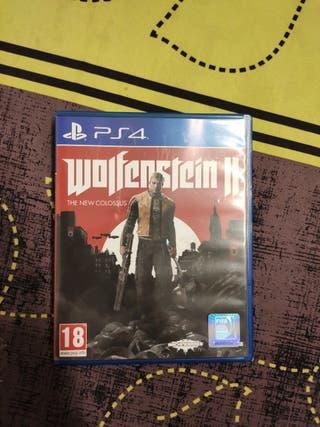 wolfestein the new colossus ps4