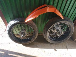 ruedas supermotard ktm originales